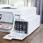 Brother's MFC-J995DW INKvestment Tank All-in-One, the First Hybrid Cartridge Inkjet Printer