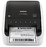 Print Wide-Format 4″ Labels from Brother's Professional-Grade QL-1110NWB Labeler