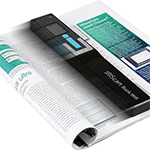 Scan Book, Magazine, Journal, and Notebook Pages with the IRIScan Book 5 WiFi