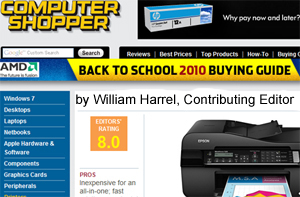 William Harrel's reviews on Computer Shopper