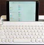 Logitech's K480 Multi-Device Keyboard Pairs with Three Devices and OSs Simultaneously