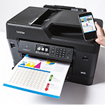 Brother's MFC-J6930DW All-in-One Tabloid (11″ by 14″) Inkjet Printer