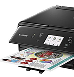 Canon's Five-Ink Pixma TS6020 Wireless Inkjet All-in-One Printer – Top Notch Photos