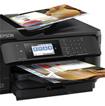 Super-Tabloid Prints and Copies with Epson's WorkForce WF-7710 Wide-Format AIO Printer