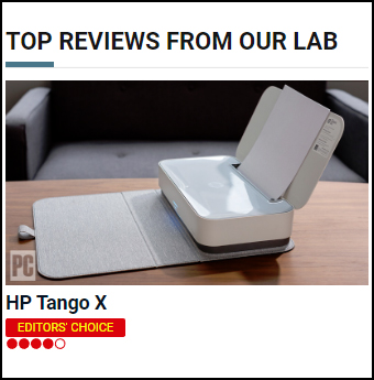 My review of HP's new voice-activated smart home Tango X AIO at PCMag